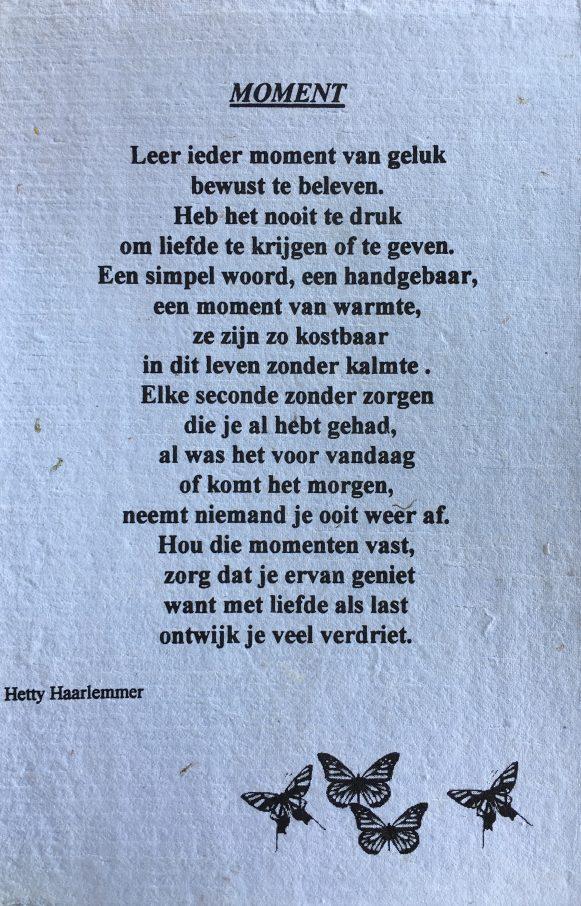 Moment Hetty Haarlemmer
